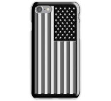 America in black and white iPhone Case/Skin