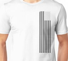 America in black and white Unisex T-Shirt