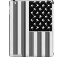 America in black and white iPad Case/Skin