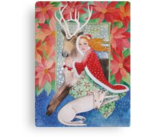 Winter's Wonderland Canvas Print