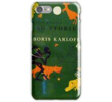 Boris Karloff Just So Stories iPhone Case/Skin