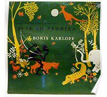 Boris Karloff Just So Stories Poster