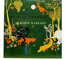 Boris Karloff Just So Stories Photographic Print