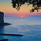 Sunset Over The Tyrrhenian Sea - Vico Equense, Italy by David Lewins LRPS