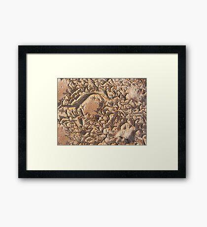 Gods Work Framed Print