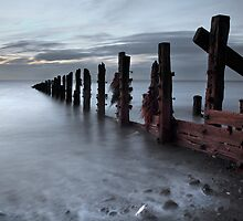 An October Dawn At The Spurn by SteveMG