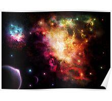 Exploding Nebula Poster
