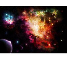 Exploding Nebula Photographic Print