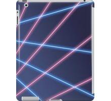 80s Laser Background iPad Case/Skin