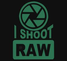 I Shoot Raw Photography Camera Photograph by D4nsRongs