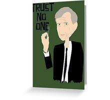 Trust Smoking Greeting Card
