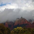 Sedona Arizona Cloudy Day by Stormygirl