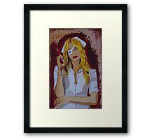 Elle Driver ~ Kill Bill Framed Print