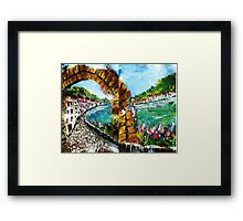 Ciao................From The BoTTom Of Da Boot.......kj's way Framed Print