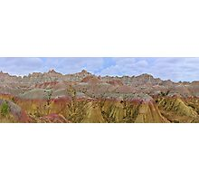 Badlands NP / Seabed Jungle Photographic Print