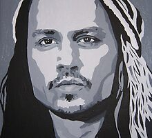 Johnny Depp by Kursed