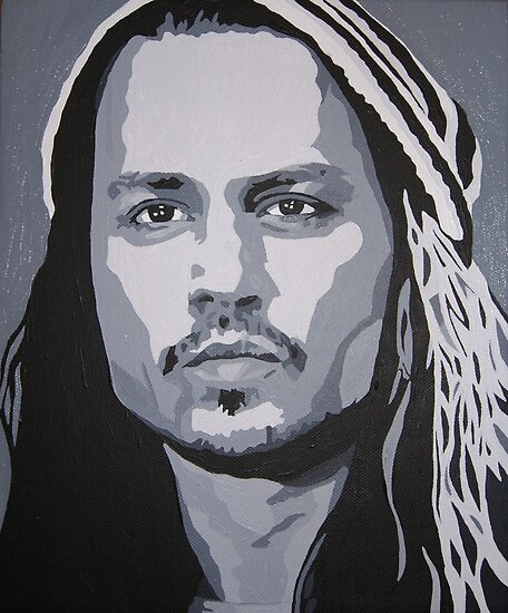 Johnny Depp by Kursed