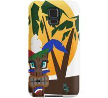 Patriotic Tiki Samsung Galaxy Case/Skin