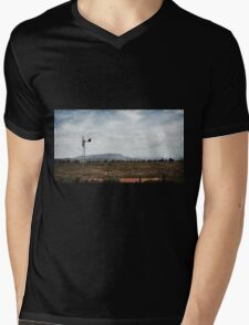Windmill  Mens V-Neck T-Shirt
