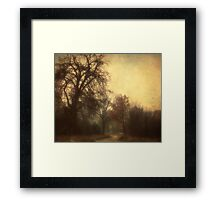 Brown Framed Print