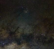 Saturn, Scorpius and the Milky Way by Teale Britstra