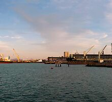 Townsville Port - From the Breakwater by Paul Gilbert