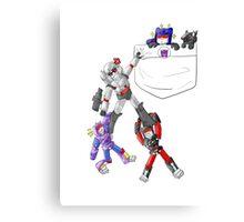 Transformers Decepticon Chibis Canvas Print