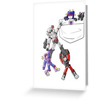 Transformers Decepticon Chibis Greeting Card