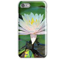 Pink and White Lily Whispers iPhone Case/Skin
