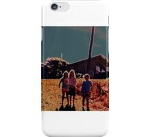 walking down the hill iPhone Case/Skin