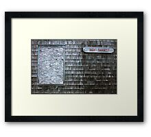 Sea Shanty Framed Print