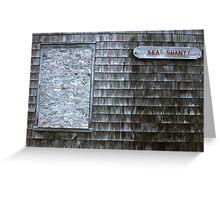 Sea Shanty Greeting Card