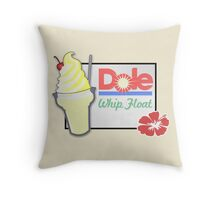 Dole Whip Float Throw Pillow