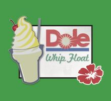 Dole Whip Float One Piece - Short Sleeve