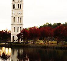 Furman Bell Tower by Sandy Dunn