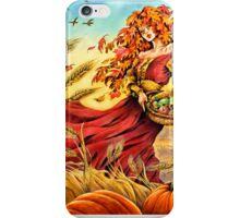Harvest Faerie iPhone Case/Skin