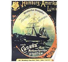 Poster 1890s 2009 10 29 Plakat HapagK Poster
