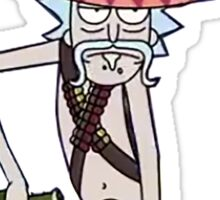 Rick And Morty-- Sombrero Sticker