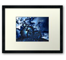 A Night to Howl Framed Print