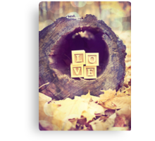 Tree Love Canvas Print