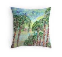 Skyway in Tampa-Bay Throw Pillow