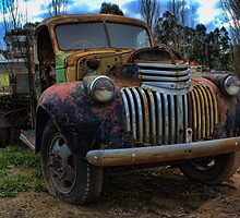 Seen better days - '46 Chevy by Ray Green