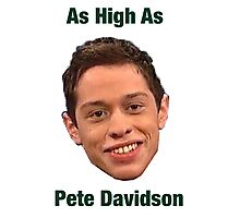 Pete Davidson-- High Photographic Print