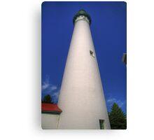 Wind Point Lighthouse-2 Canvas Print