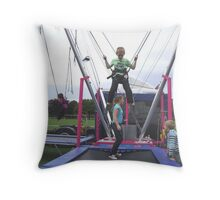 the enjoyment of youth Throw Pillow