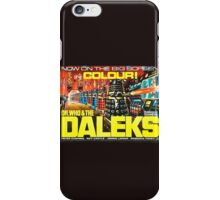 dr who a daleks iPhone Case/Skin