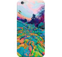 Pathway to the Edge Of  Planet Zorg iPhone Case/Skin