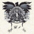 High Till I Die - Crest by Ron Swanson