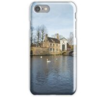 Wijngaardplein Bruges iPhone Case/Skin