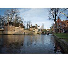Wijngaardplein Bruges Photographic Print